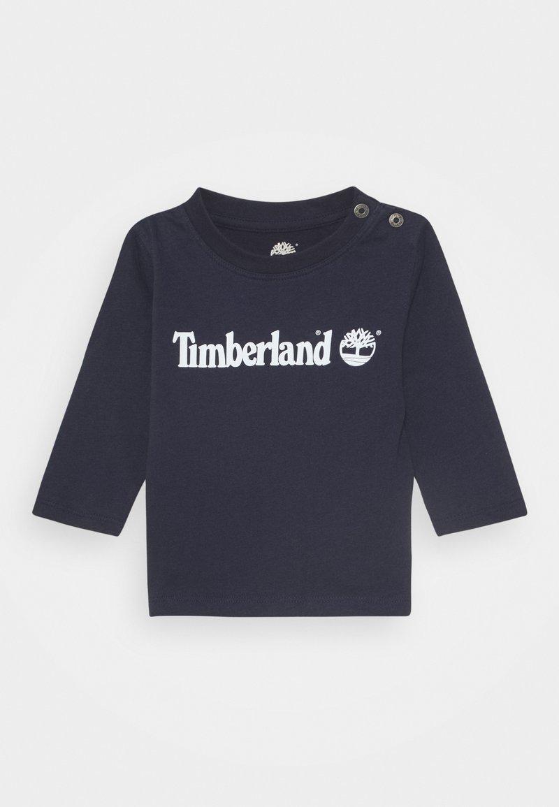Timberland - LONG SLEEVE BABY - Long sleeved top - navy