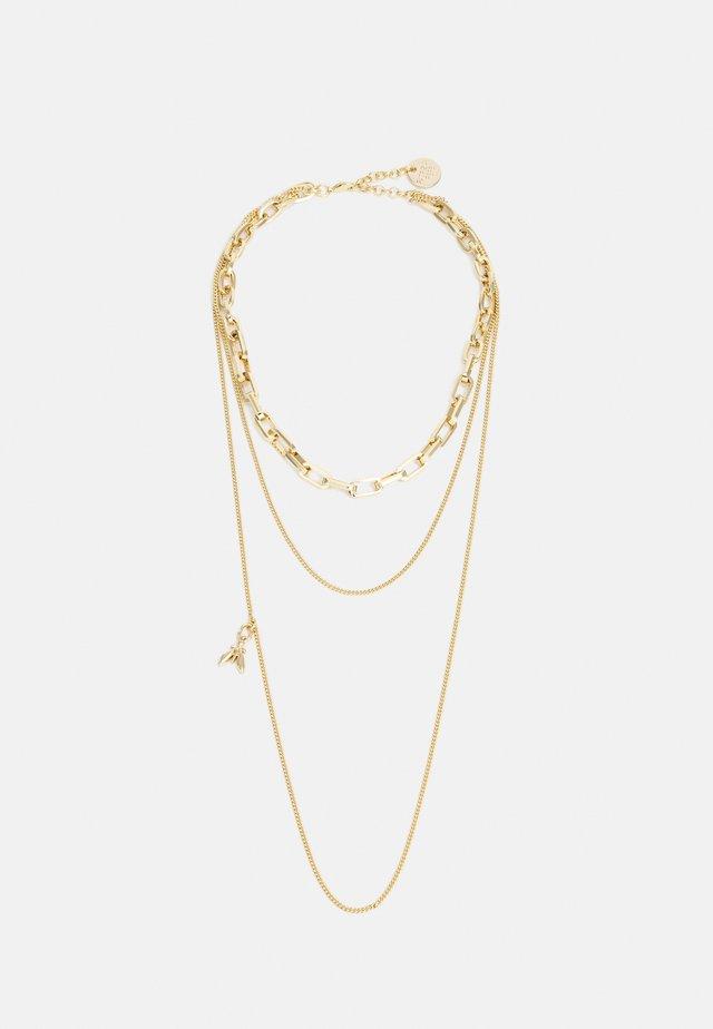 COLLANA NECKLACE - Collier - gold-coloured
