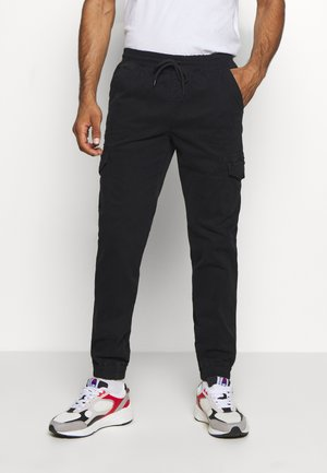 ROCHESTER ELASTIC CUFF PANTS - Trousers - black