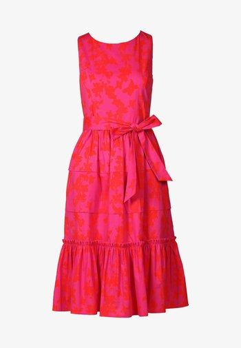 Day dress - pink orangerot
