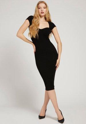 SHAPING - Shift dress - schwarz