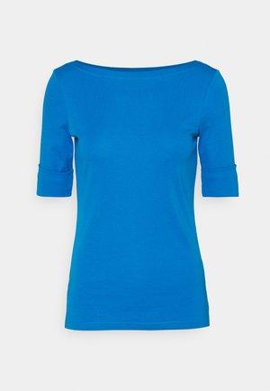 JUDY ELBOW SLEEVE - Basic T-shirt - summer topaz