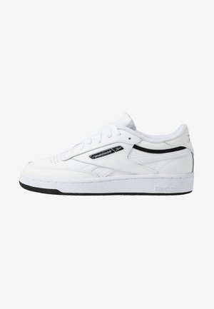 CLUB C REVENGE - Sneakers laag - white/black/silver metallic