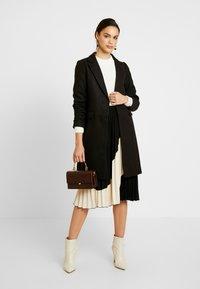 New Look - LEAD IN COAT - Kort kåpe / frakk - charcoal - 1
