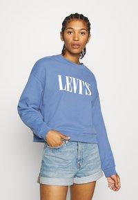 Levi's® - GRAPHIC DIANA CREW - Sweatshirt - colony blue - 0