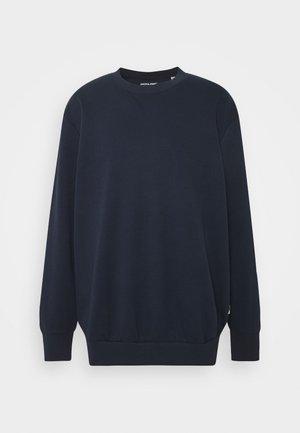 JJEBASIC CREW NECK - Sweatshirt - navy blazer