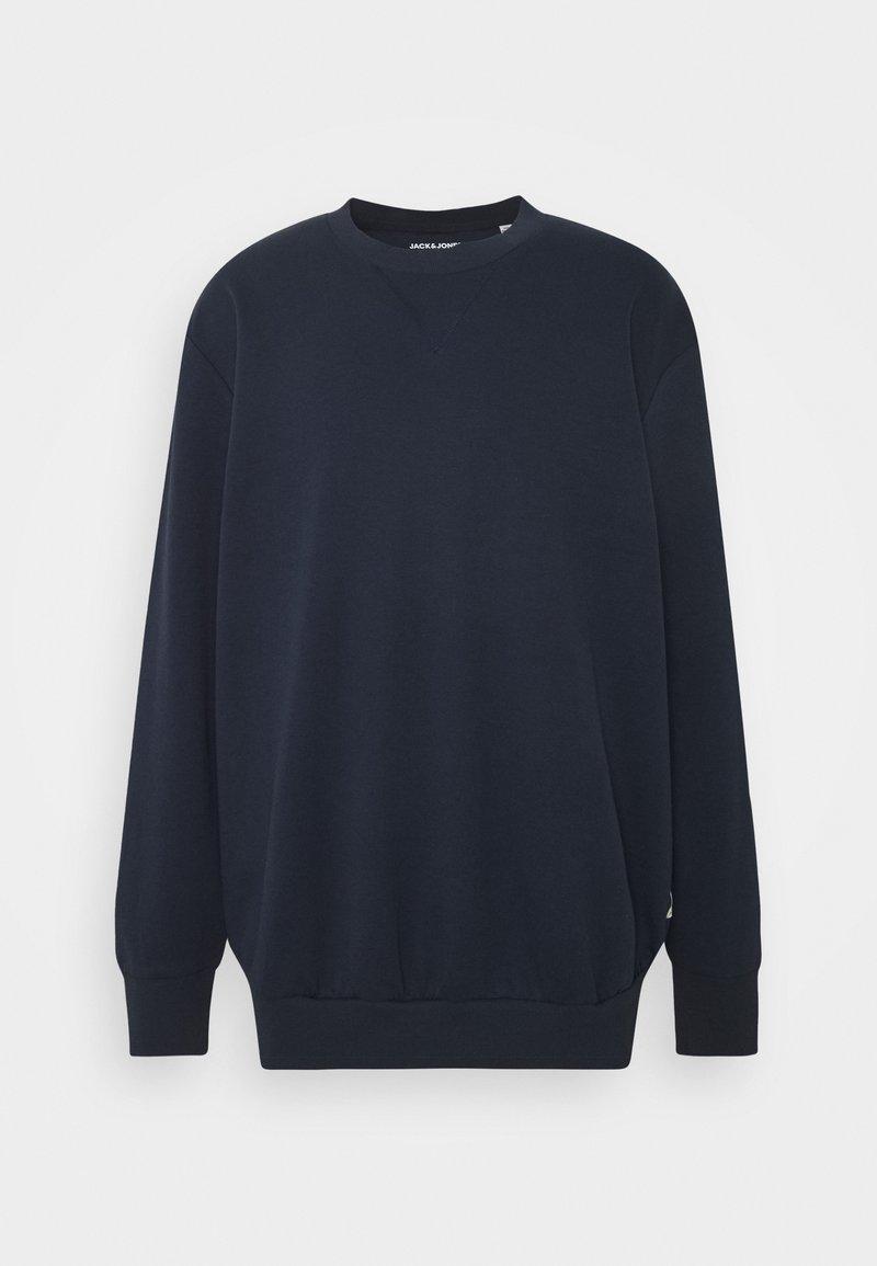 Jack & Jones - JJEBASIC CREW NECK - Sweatshirt - navy blazer