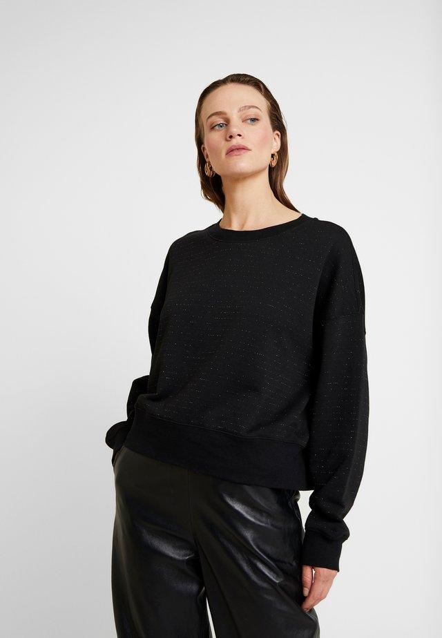 PIRO SHIMMER - Sweatshirts - copper/black