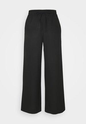 SLFSIA WIDE PANT - Pantalon classique - black