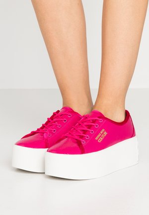 PLATFORM SOLE - Sneakers laag - fuxia