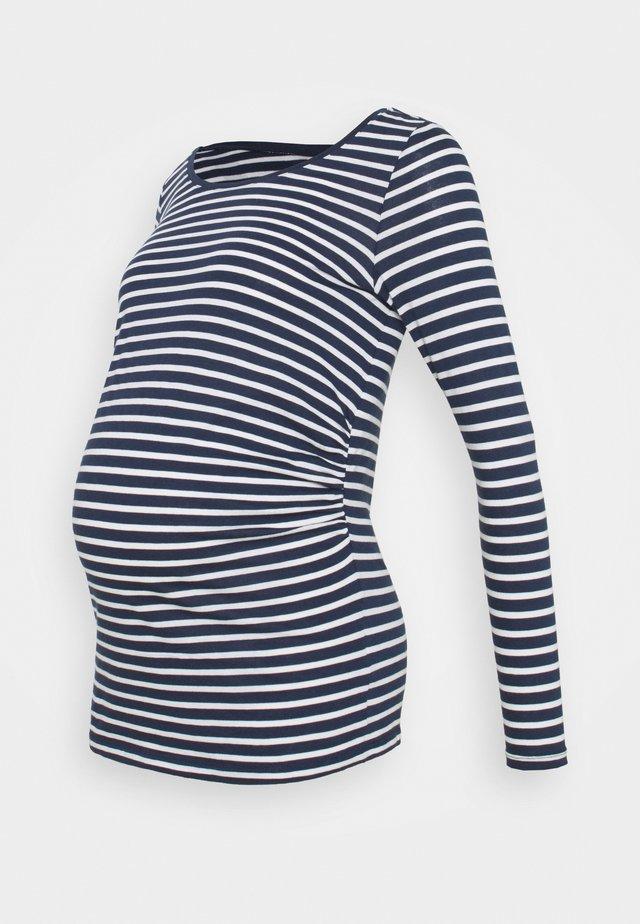 STRIPE - Long sleeved top - blue