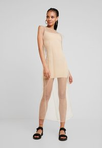 Weekday - MOMA DRESS - Maxi šaty - beige - 0