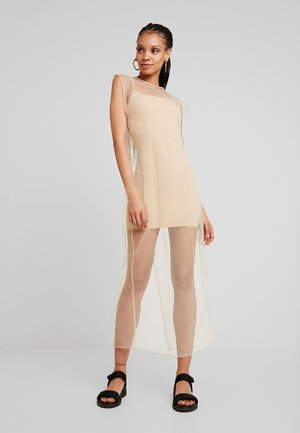 MOMA DRESS - Maxikjole - beige