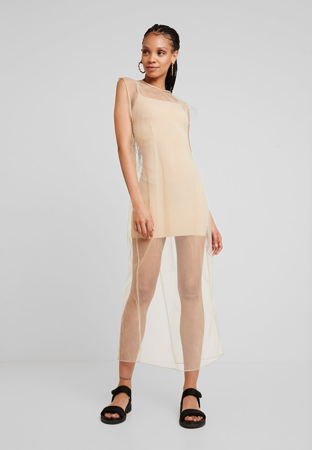 MOMA DRESS - Maksimekko - beige