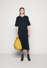 CLOSED - RUNA - Jumper dress - dark night - 1
