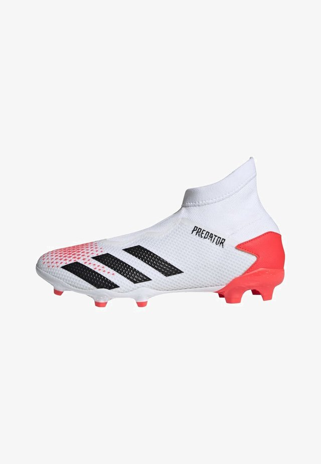 PREDATOR 20.3 FIRM GROUND BOOTS - Chaussures de foot à crampons - white