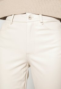 ONLY - ONLEMILY - Trousers - creme - 4