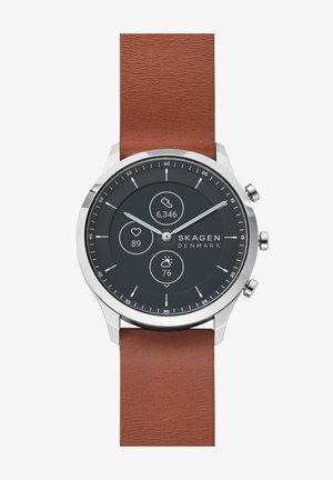 JORN HYBRID HR - Kronografklockor - brown