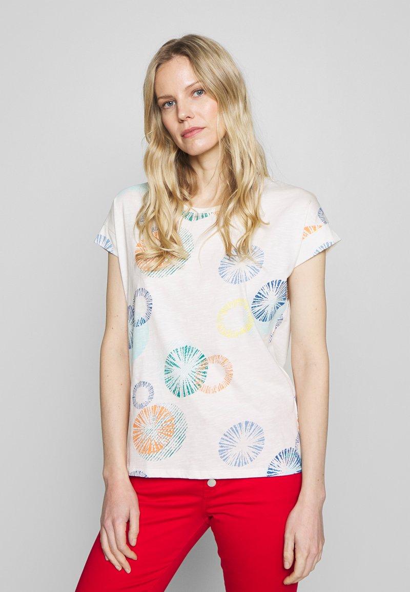 Esprit - MLA-030EE1K338      CORE OCS FLW AW - T-shirts med print - off white