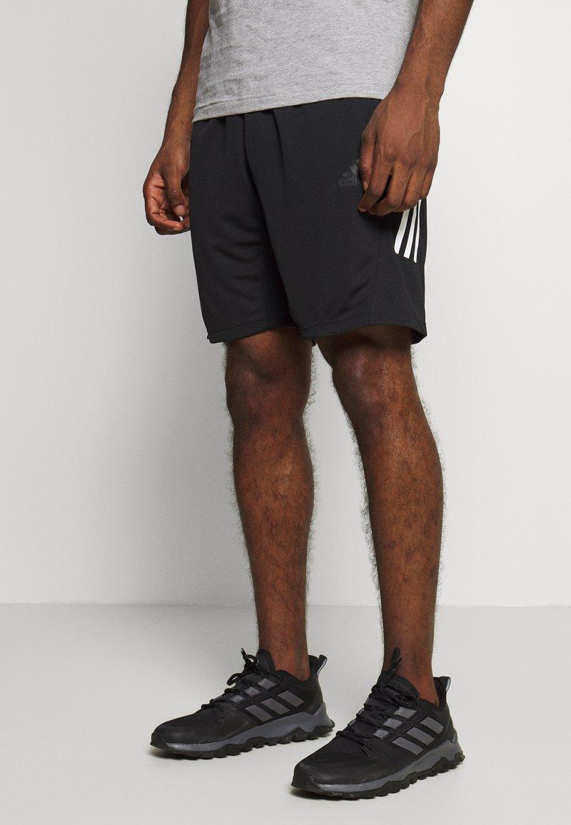 adidas Performance - KRAFT AEROREADY TRAINING SPORTS - Pantalón corto de deporte - black