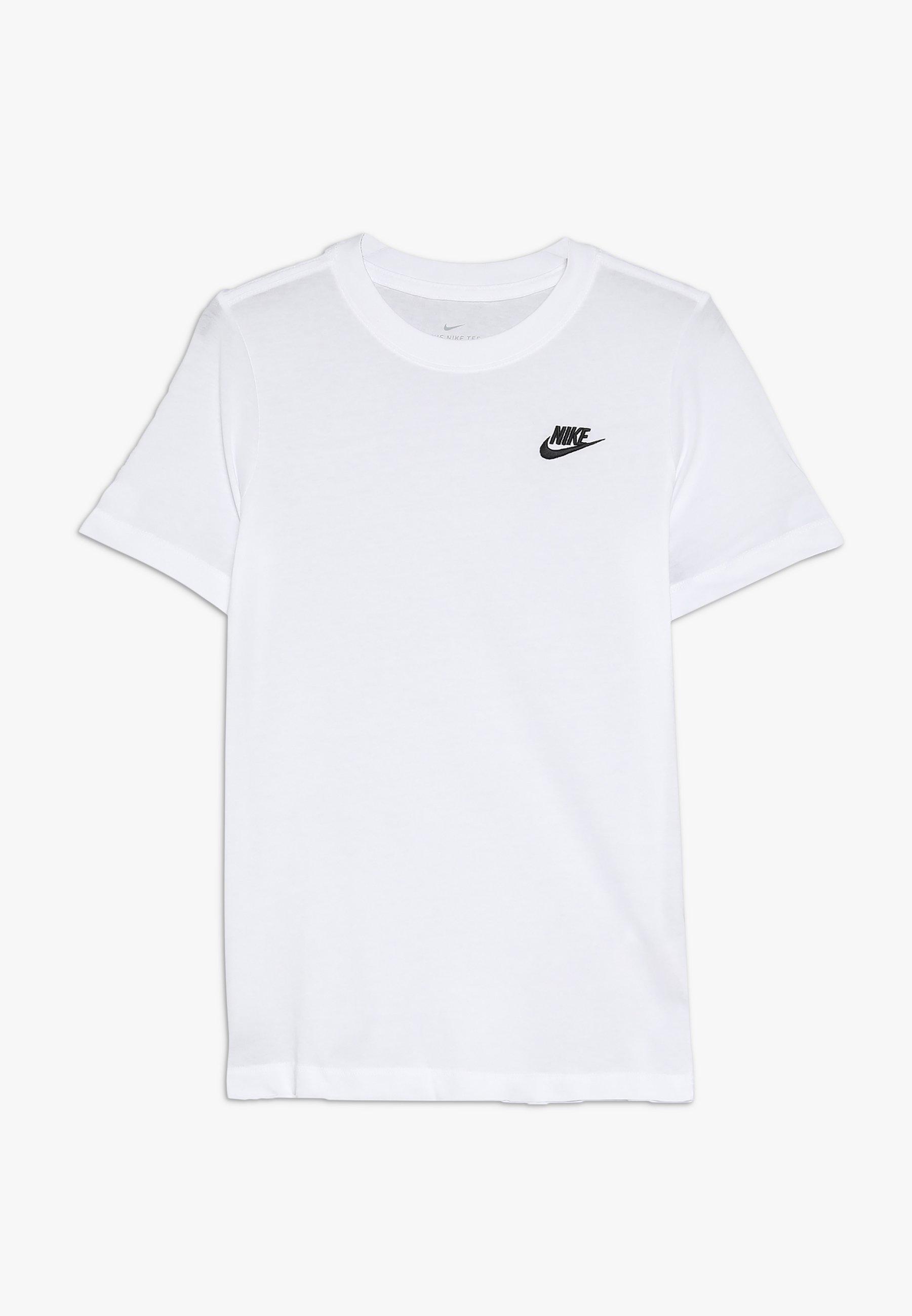 elevación guardarropa Alpinista  Nike Sportswear FUTURA - Camiseta básica - white/black/blanco - Zalando.es