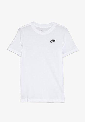 FUTURA TEE - T-shirt basic - white/black