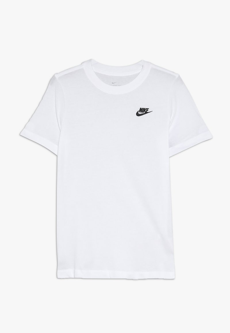 Nike Sportswear - FUTURA  - T-shirt basique - white/black