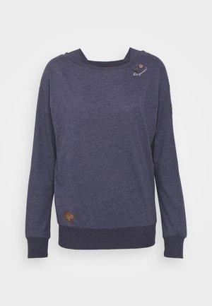 NEREA - Long sleeved top - night blue