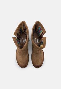 Felmini Wide Fit - GREDO - Cowboy/biker ankle boot - marvin stone - 5