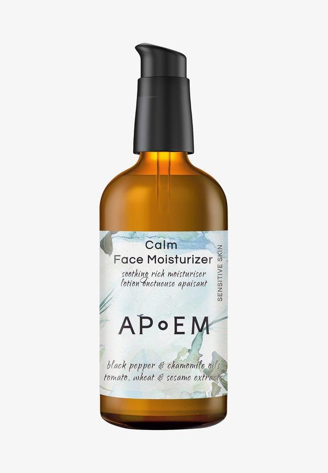 CALM FACE MOISTURISER - Dagkräm - calm face moisturiser