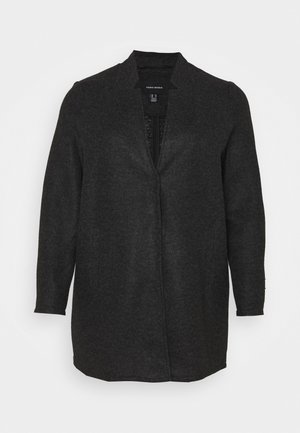 VMBRUSHEDKATRINE JACKET - Manteau court - dark grey melange
