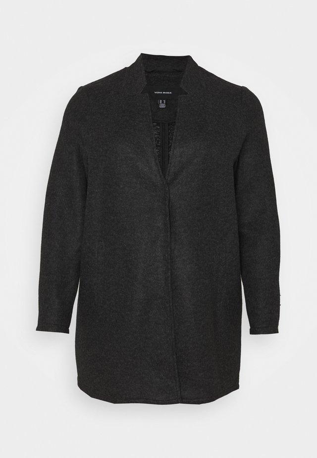 VMBRUSHEDKATRINE JACKET - Short coat - dark grey melange