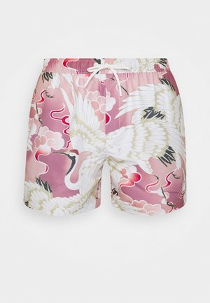 CRANE - Swimming shorts - pink
