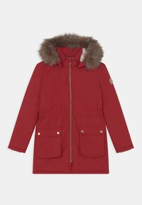 Name it - NKFMABE - Winter coat - red dahlia - 0