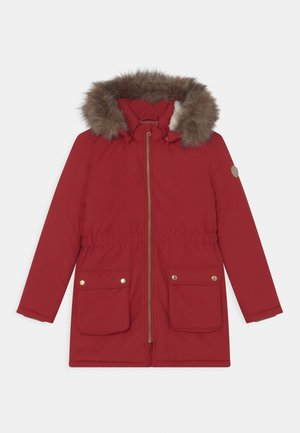NKFMABE - Winter coat - red dahlia