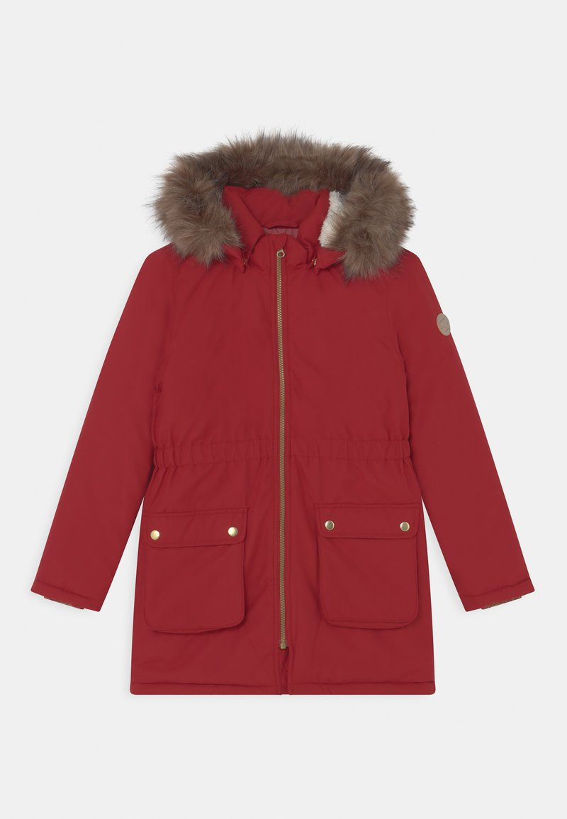 Name it - NKFMABE - Winter coat - red dahlia