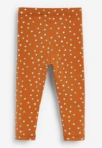 Next - SPOT PRINT - Leggings - Trousers - brown - 1