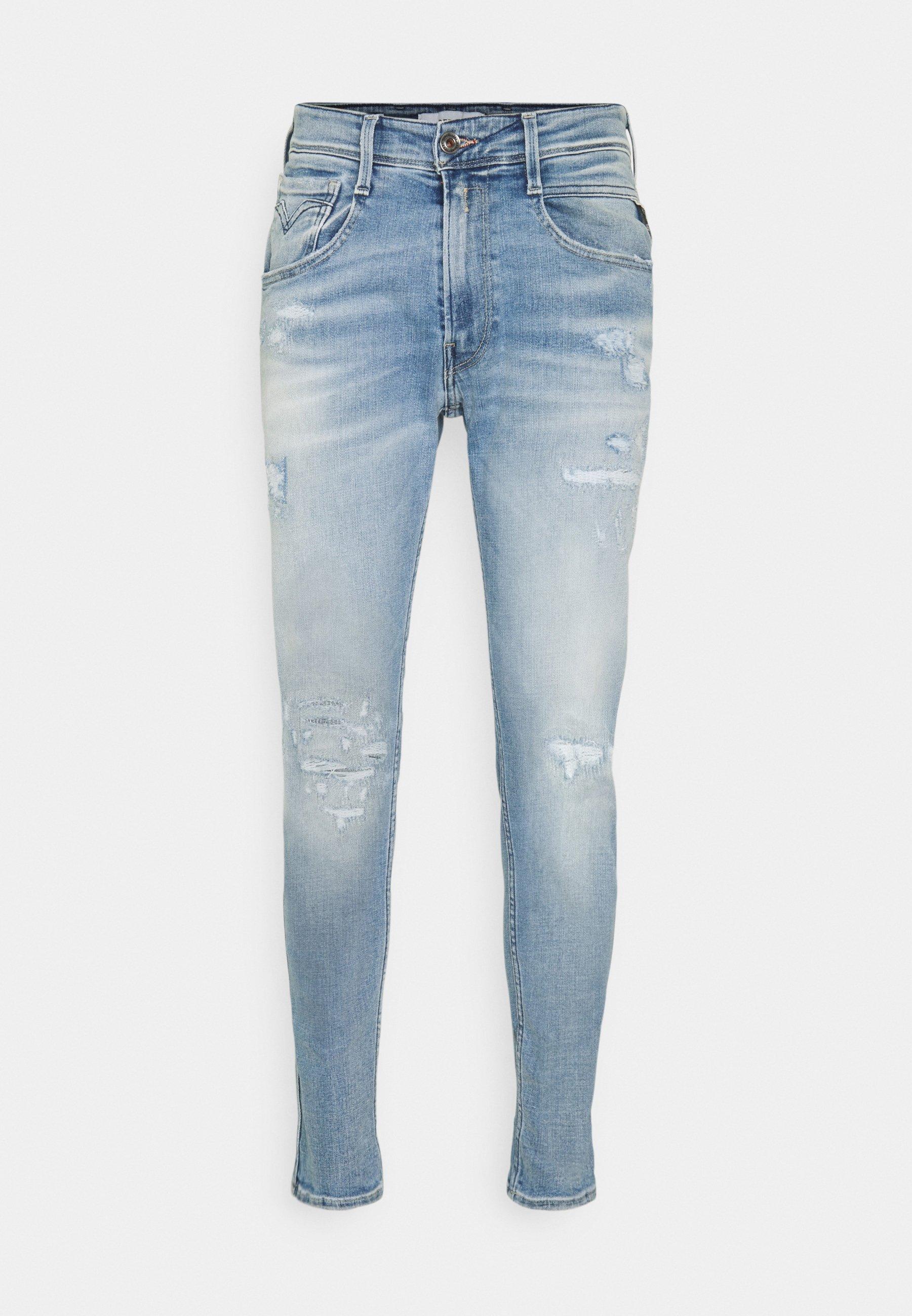 Uomo BRONNY AGED - Jeans slim fit