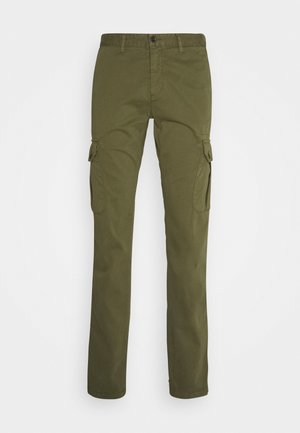 TROUSERS  - Cargobyxor - dark green