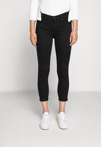 HUGO - CHARLIE CROPPED - Slim fit jeans - black - 0