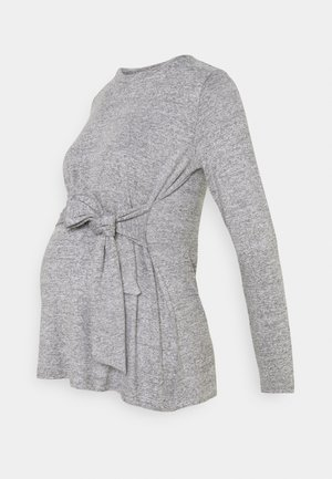 MLILA  - Topper langermet - medium grey melange