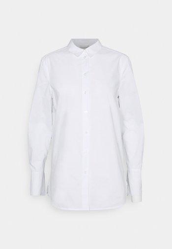 CALANI - Button-down blouse - pure white
