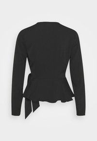 Nly by Nelly - WRAP ME PRETTY BLOUSE - Blouse - black - 1