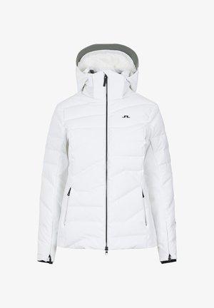 CRYSTAL - Ski jacket - white