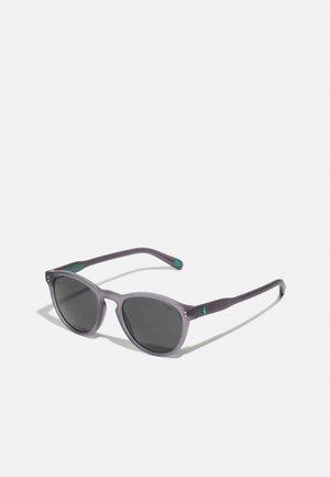 UNISEX - Zonnebril - matte transparent dark grey