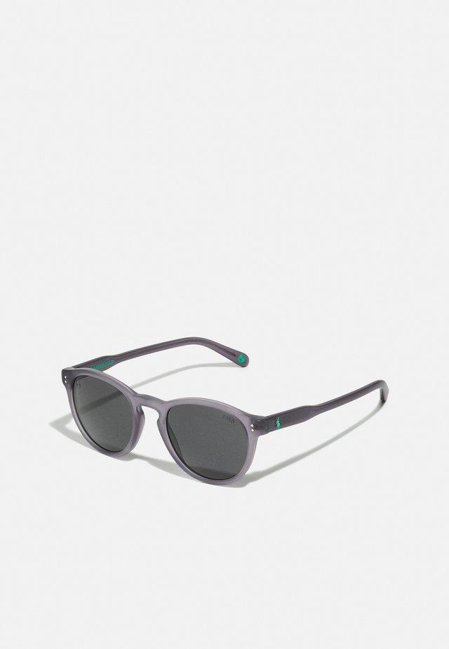 UNISEX - Gafas de sol - matte transparent dark grey