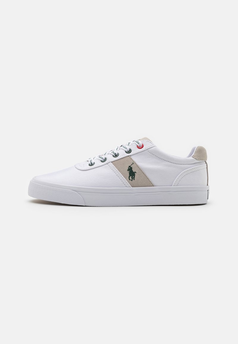 Polo Ralph Lauren - HANFORD - Sneakers laag - white/college grey