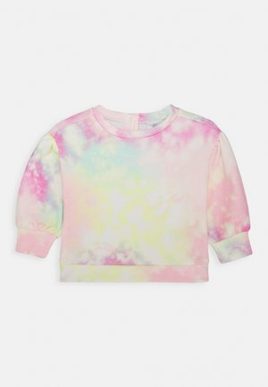 TODDLER GIRL TIE DYE FASH CREW - Sweater - multicolor