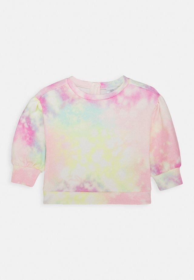 TODDLER GIRL TIE DYE FASH CREW - Sweatshirt - multicolor