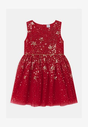 MINI EVELYN - Cocktailjurk - red